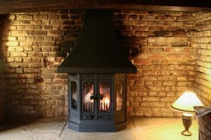 Wood Burning Stove Installation October 2012