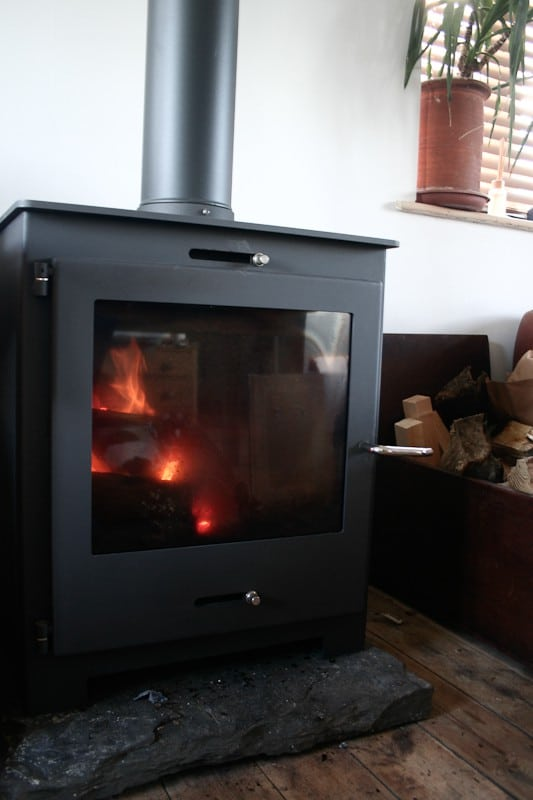Wood Burning Stove Installation August 2012 Swept Away