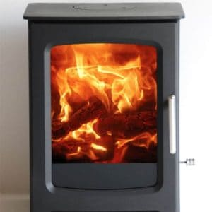 Om wood burning stove